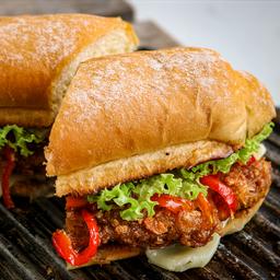 Combo crispy sandwich