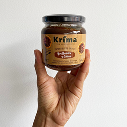 Crema Avellanas y Cacao