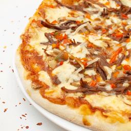 Pizza mediana carnes bbq