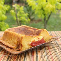 Torta de Maduro Queso y Bocadillo Grande