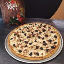 Pizza Pollo con Ciruelas Grande
