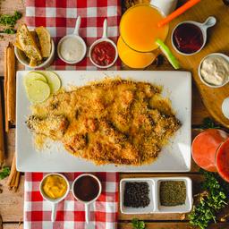 Trucha Especial con Salsa  de Camarón