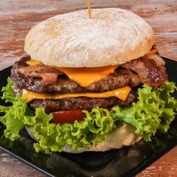 Hamburgo Doble Carne