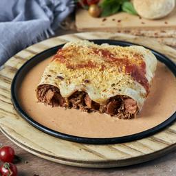 Canelones Veggie Bolognesa y Tocineta