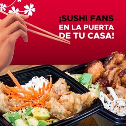 2 Bowls y Sushi Gratis