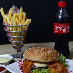 Combo Hamburguesa Gourmet de la Casa