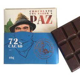 Barra Chocolate 72 % 40 Gr