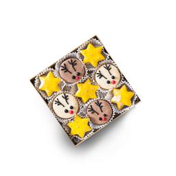 Caja de Galletas Estrellas X 9