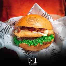 Hamburguesa Chili Pollo