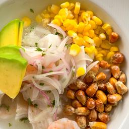 Ceviche Peruano Mixto