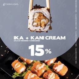Menú: Ika y Kani cream