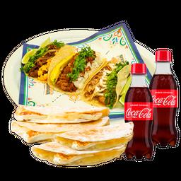 Combo Tacos Quesadilla