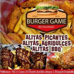 Alitas burger game