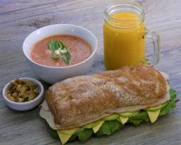 Combo Sandwich M* + Sopa + Bebida