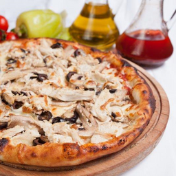 Pizza Pollo Champiñón Grande