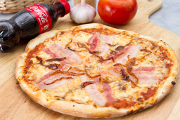 Pizza Cebolla Caramelizada + Gaseosa