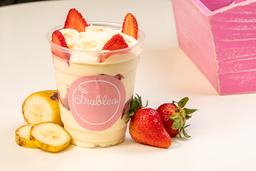 Fresas con Crema y Bananno