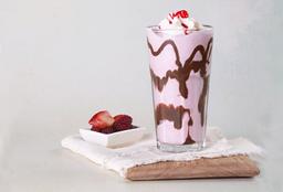 Malteada Yogurt con Frutos Rojos