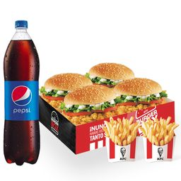 Combo Burger Box