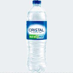 Botella de Agua 600 ml.