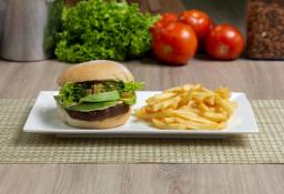 Combo Hamburguesa Falafel