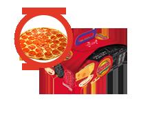 Menú Infantil con Pizza