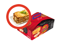 Menú Infantil con Lasagna