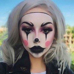 Maquillaje básico Payaso IT