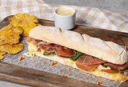 Sándwich Jamón Serrrano