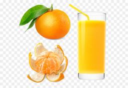 Jugo de Mandarina en Agua