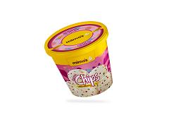 Litro Helado de Vainilla con Chips de Chocolate de Colores