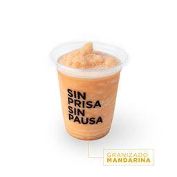 Granizado Mandarina (En Licuadora)