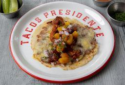 🌟 2 Mini Costras + 3 Tacos + Bebida