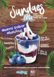 Sundae Cristales Coco Yogurt