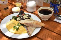 Omelette de Vegetales y Queso Mozzarella
