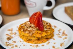 Pancakes de Ahuyama y Coco