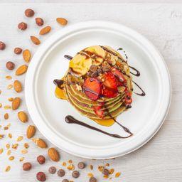 Avocado pancakes (vegano)