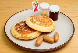 Pancakes con Salchicha