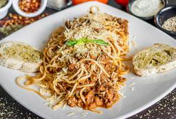 Spaguetti a la Boloñesa
