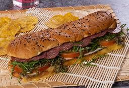 Sándwich Pavo y Salami