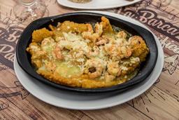 Filete De Róbalo en Salsa De Camarón
