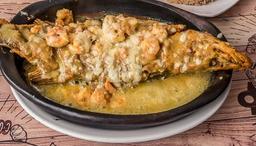 Róbalo en Salsa Camarón