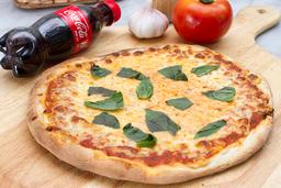 Pizza Margarita + Gaseosa