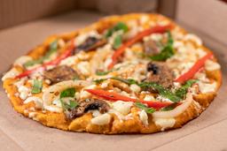 Pizza al Jardín (Arma tu pizza en casa)