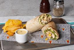 Wrap Pollo y Maíz