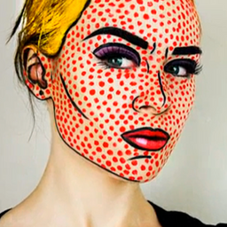 Maquillaje básico Pop Art