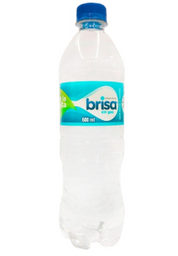 Botella de agua sin gas