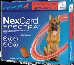 NEXGARD SPECTRA XL 1 CHEWAB X 10 (30-60kg)