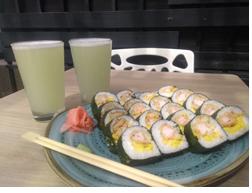 X2 Maki Fuji Roll + Limonada natural