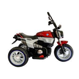 Moto Electrica Recargable Roja Fragola Kids